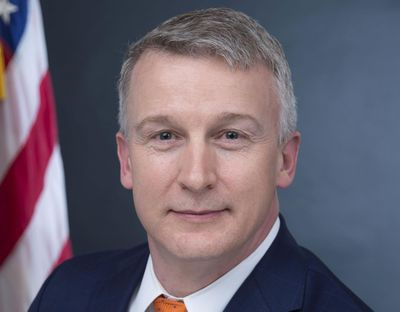 """In this image provided by Public Health Emergency, a department of Health and Human Services, Rick Bright is shown in his official photo from April 27, 2017, in Washington. America faces the """"darkest winter in modern history"""" unless leaders act decisively to prevent a rebound of the coronavirus, says Bright, a government whistleblower who alleges he was ousted from his job for warning the Trump administration to prepare for the pandemic. (Health and Human Services via AP) (AP)"""