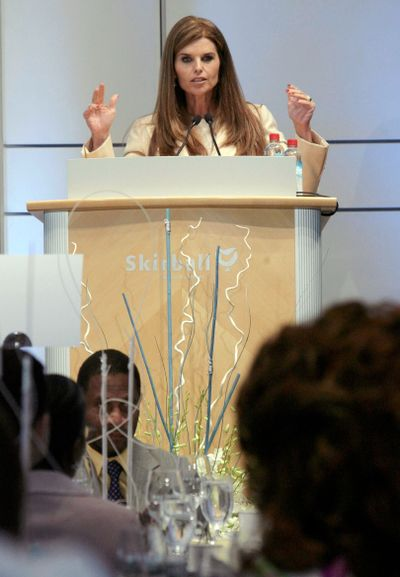 Maria Shriver (Associated Press / The Spokesman-Review)
