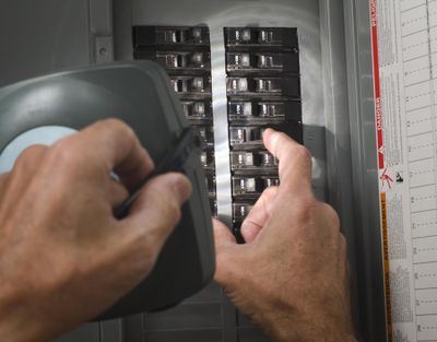 Well-functioning circuit breakers are guardians of your life and property. (dreamstime.com)