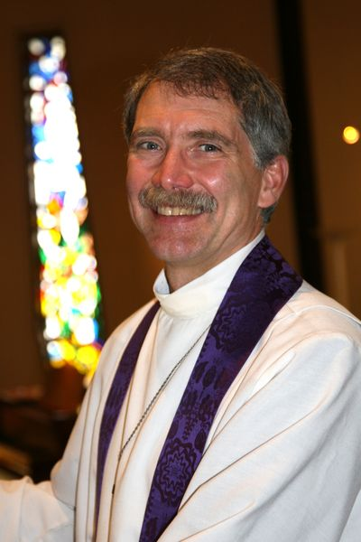 The Rev. Bill Osborne is the new rector of St. Stephen's Episcopal Church. (Courtesy of St. Stephen's )