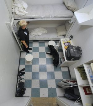 Department of Corrections prison cell phones (Colin Mulvany / The Spokesman-Review)