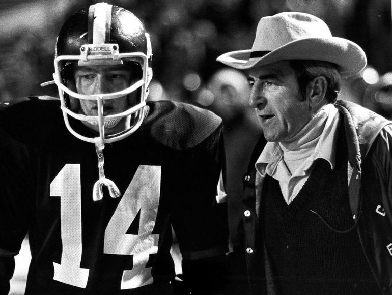 Gonzaga Prep coach Don Anderson. Nov. 12, 1982. Photo Archive/The Spokesman-Review. (Photo Archive/spokesman-review)