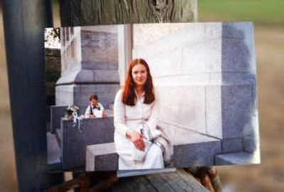 A photo of Melinda Mercer, then 23, a year before she was slain by serial killer Robert Lee Yates Jr. Mercer is one of two women killed by Yates in Pierce County.   (RICHARD ROESLER / The Spokesman-Review)