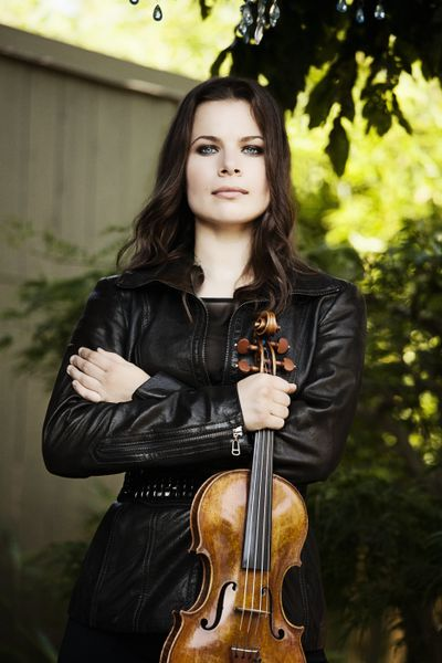 Guest artist Bella Hristova will perform the Sibelius Violin Concerto during Masterworks 1: The Return of the Symphony on Saturday and Sunday at Martin Woldson Theater at the Fox.  (Lisa-Marie Mazzucco)
