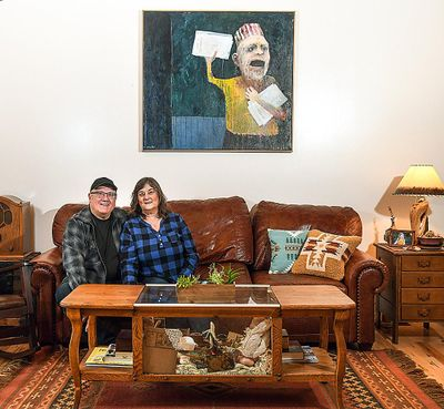 "Doug and Sherry Clark are the authors of ""McCuddin: The Inner Eye."" (Dan Pelle / The Spokesman-Review)"
