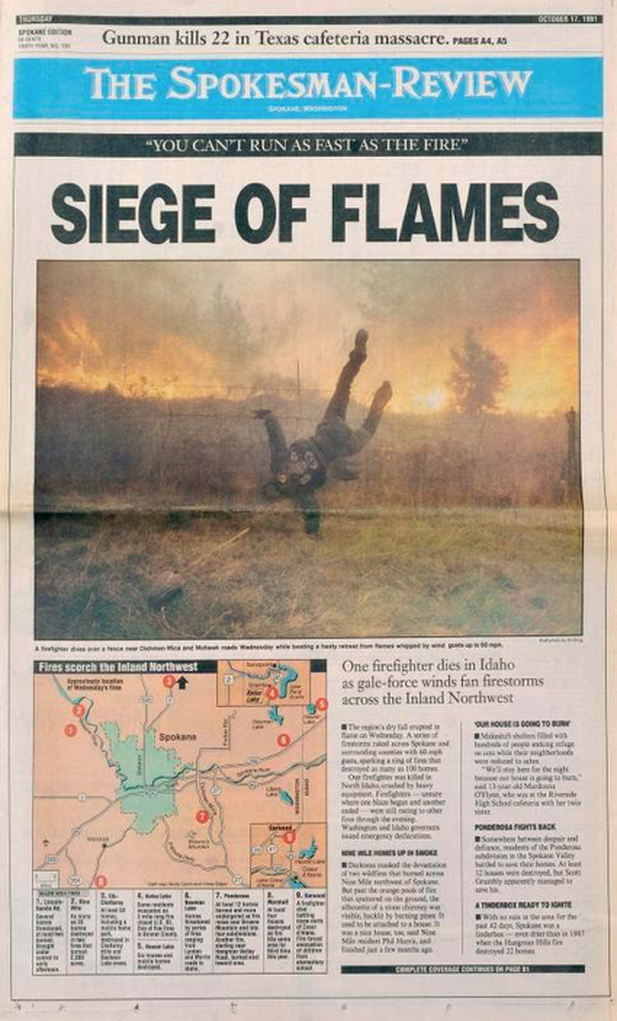 SR front page from Oct. 17, 1991