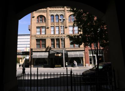 Walt and Karen Worthy, owners of the Davenport Hotel, purchased the boutique Hotel Lusso at 1 N. Post St. this week  for an undisclosed amount.  (Colin Mulvany / The Spokesman-Review)