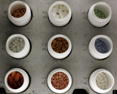 Making sure your medications are among those covered by your Medicare Part D plan is a key thing people should check during open enrollment. (Matt Rourke / File/Associated Press)