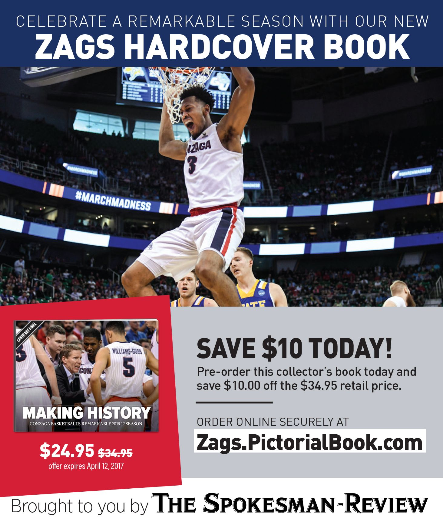 Buy Gonzaga hardcover book