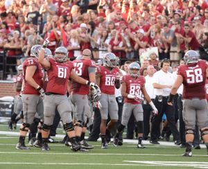 Cole Madison is young, but experienced on WSU's O-line.