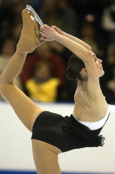 Czisny glided to the bronze medal in Spokane in 2007.  (File)