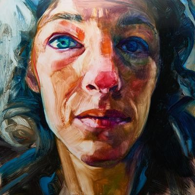 Poet Ellen Welcker is captured in a portrait by Kate Vita.
