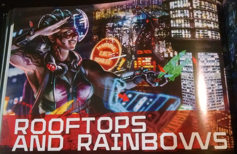 Rooftops and Rainbows from Shadowrun 5ed.