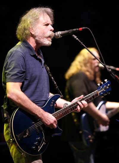 Bob Weir, who performed 22 shows this spring with The Dead, lands at The Fox Tuesday with his band RatDog.  (Associated Press / The Spokesman-Review)