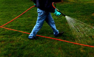 Fertilizing in the fall will prepare your lawn for a healthy spring.  (File/ / The Spokesman-Review)