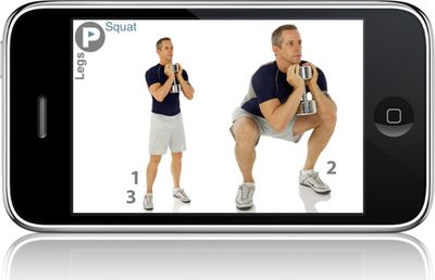 PumpOne's iPump Workouts are total body workouts  available for iPhone and iPod touch.  (Associated Press / The Spokesman-Review)