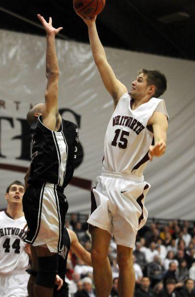 Whitworth's David Riley averaged 13.4 points per game last season.  (Jesse Tinsley)