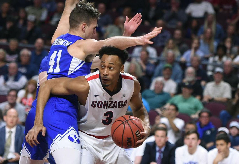 Gonzaga-BYU postgame interview: Gonzaga coach Mark Few, Killian Tillie and Johnathan Williams