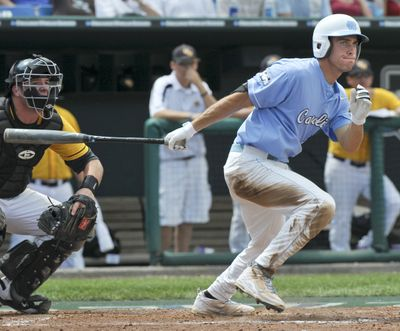 North Carolina's Dustin Ackley had five hits in an 11-4 victory for the Tar Heels. (Associated Press / The Spokesman-Review)
