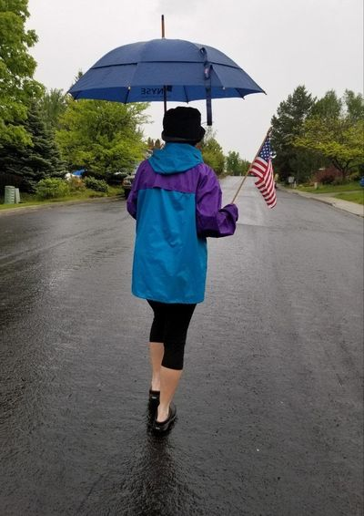 The last in a back-to-back series of wet-weather systems put a damper on Memorial Day activities in the Inland Northwest. (David Johnson / Courtesy)