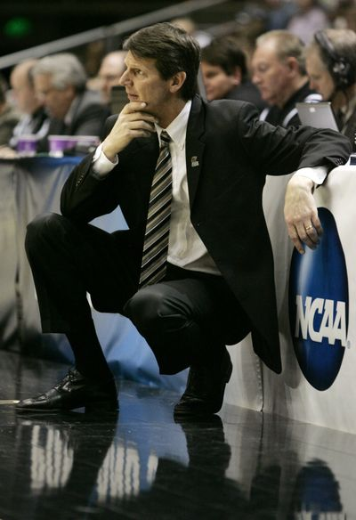 New WSU basketball coach Ken Bone. (Associated Press / The Spokesman-Review)