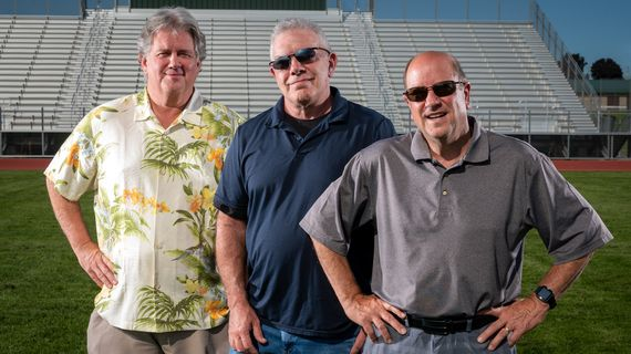 From left, Dennis Patchin, Rick Lukens and Bud Nameck will join Vince Grippi Friday at 6 p.m. for a Northwest Passages event.  (Colin Mulvany/THE SPOKESMAN-REVIEW)