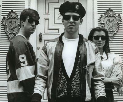 "Alan Ruck, Matthew Broderick and Mia Sara star in ""Ferris Bueller's Day Off.""  (Jim Zenk/Paramount Pictures)"