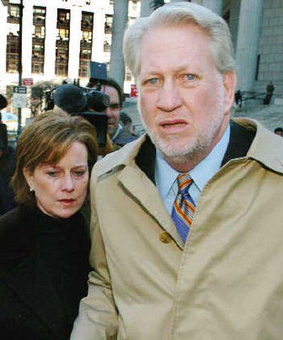Former WorldCom CEO Bernard Ebbers and his wife Kristie.    (Associated Press / The Spokesman-Review)