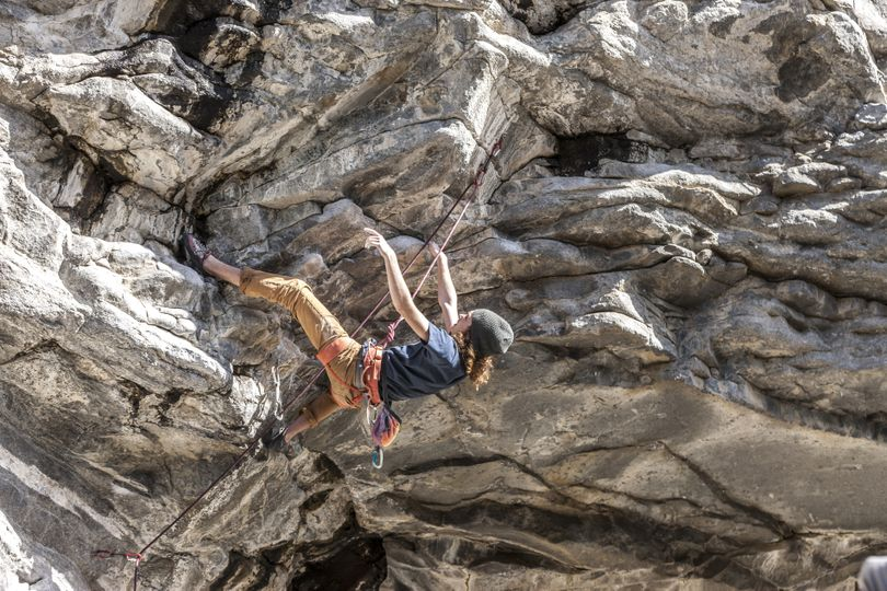 Spokane-area rock climbers plan to put their muscle into cleaning up favorite climbing areas in celebration of Earth Day. (Gregory Johnston)