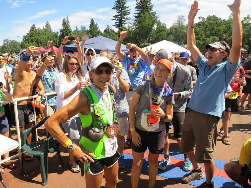 On June 28, 2015, Gunhild Swanson, 70, of Spokane becomes the oldest woman to finish the Western States Endurance Run, a 100-miler in California.