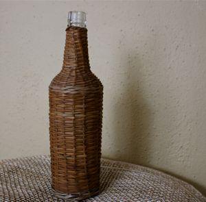 Vintage wicker-wrapped bottle. (Cheryl-Anne Millsap / Photo by Cheryl-Anne Millsap)