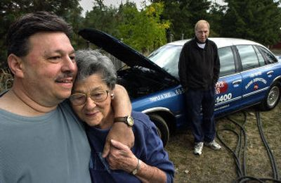 Rosemary Campo and her son, Charlie Campo, escaped from New Orleans in a Nissan pickup. Steven Blann headed to Florida first before driving to Spokane in his taxicab.   (Dan Pelle / The Spokesman-Review)