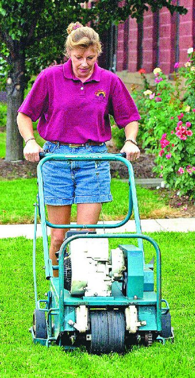 Using a core aerator can give your lawn the jump-start it needs on the way to warmer and longer days.    (McClatchy-Tribune / The Spokesman-Review)