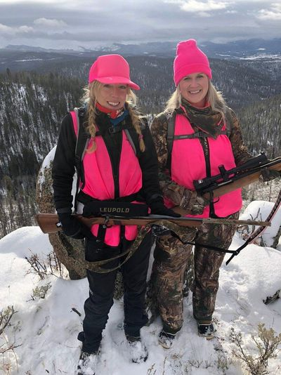 Fluorescent pink is now an acceptable safety color for hunters to wear in the field. (Courtesy)