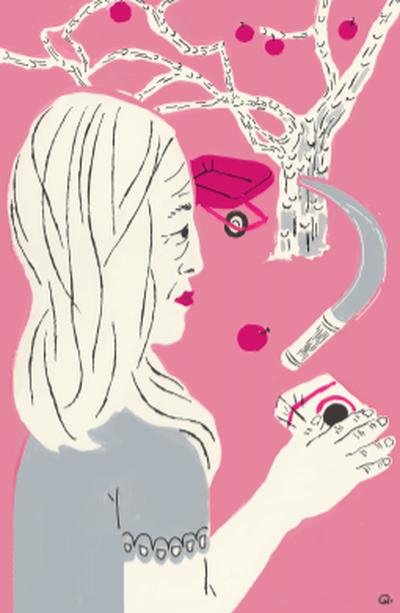 Molly Quinn illustration  (Molly Quinn)
