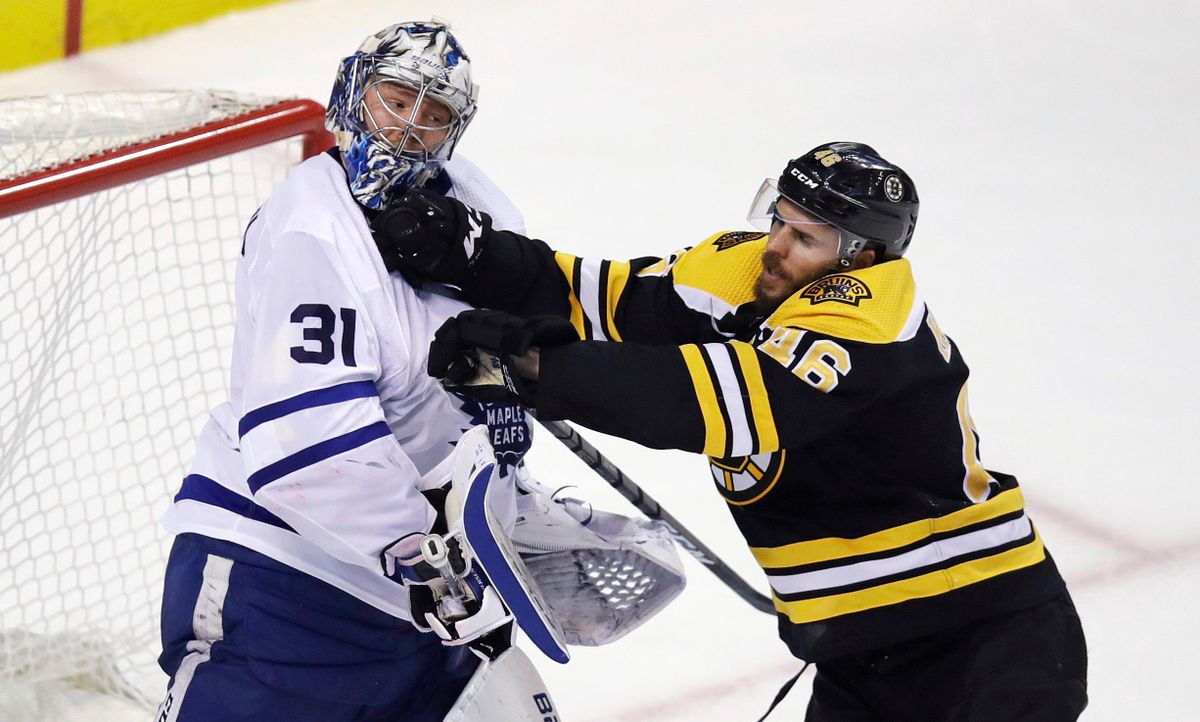 Bruins Score 4 In 3rd To Beat Maple Leafs 7 4 In Game 7 The Spokesman Review
