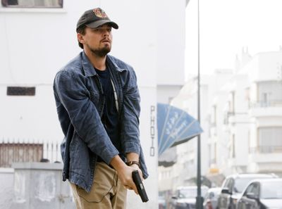 ORG XMIT: NYET656 In this image released by Warner Bros., Leonardo DiCaprio is shown in a scene from,