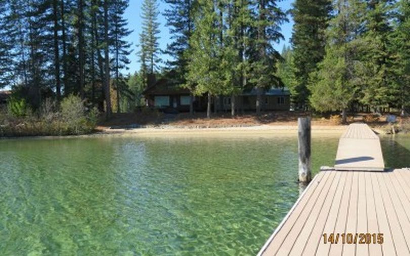 One of the 41 lake cabin sites at Priest Lake that the state of Idaho will put up for public auction this Saturday