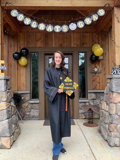 Holly Terrill is graduating with the University of Idaho Class of 2020. (Courtesy)