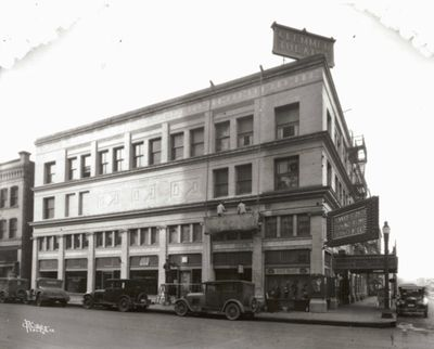 The Clemmer Theater, pictured in 1929, is thriving today – a century after it first opened its doors – as the Big Crosby Theater.
