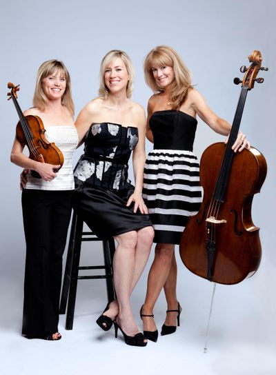 Eroica Trio performs at Barrister Winery on Monday and Tuesday.  (Courtesy)
