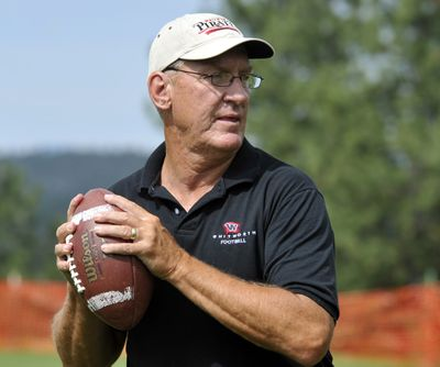 Whitworth football coach John Tully compiled a 100-83 record with the Pirates. (Dan Pelle)