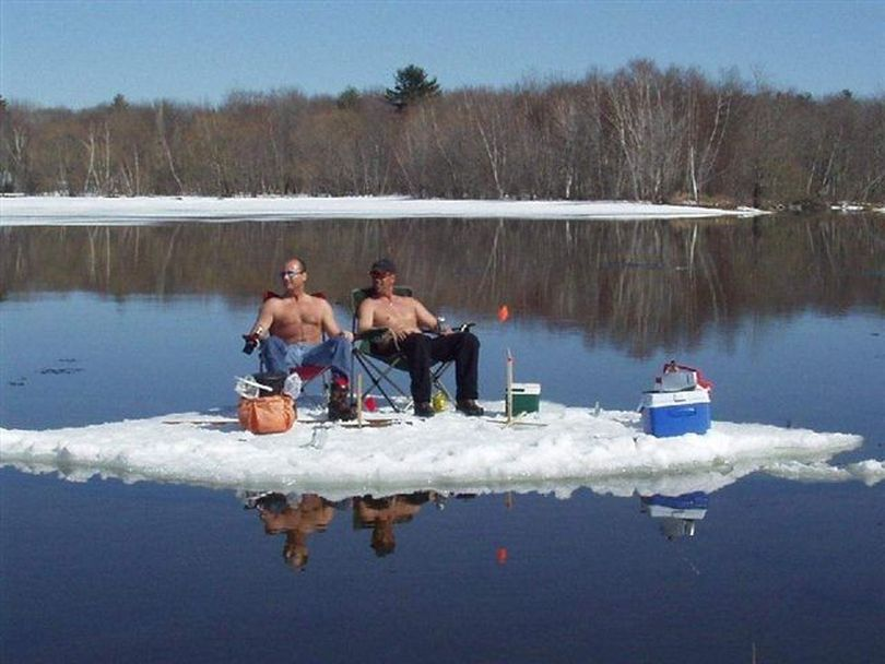 Spring fishing in Minnesota. (Courtesy photo)