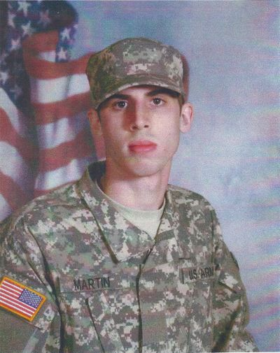 Spc. Ethan Jacob Martin, of Bonners Ferry, died Aug. 7, 2012, when his unit was attacked by small arms fire in Koragay, Afghanistan. (Courtesy)