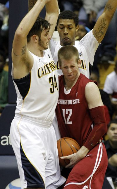 WSU forward Brock Motum (12) (Associated Press)