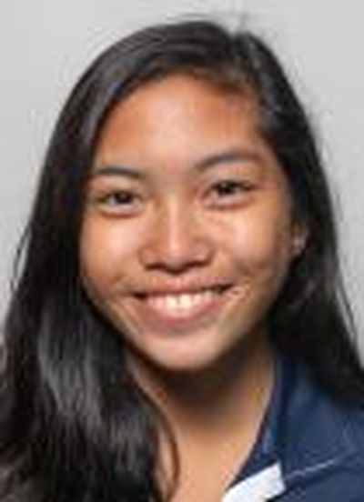Gonzaga freshman Bianca Pagdanganan leads the Bryan (Texas) Regional after a 5-under-par performance in the first round of the NCAA women's golf tournament. (Photo courtesy of Gonzaga)