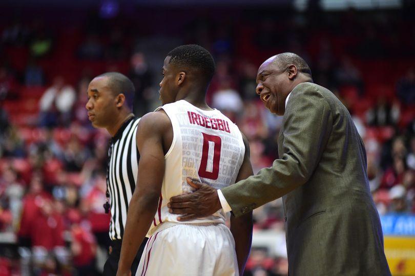 WSU head coach Ernie Kent wants his guards, like junior Ike Iroegbu, to share the on-court responsibilities. (Tyler Tjomsland / The Spokesman-Review)