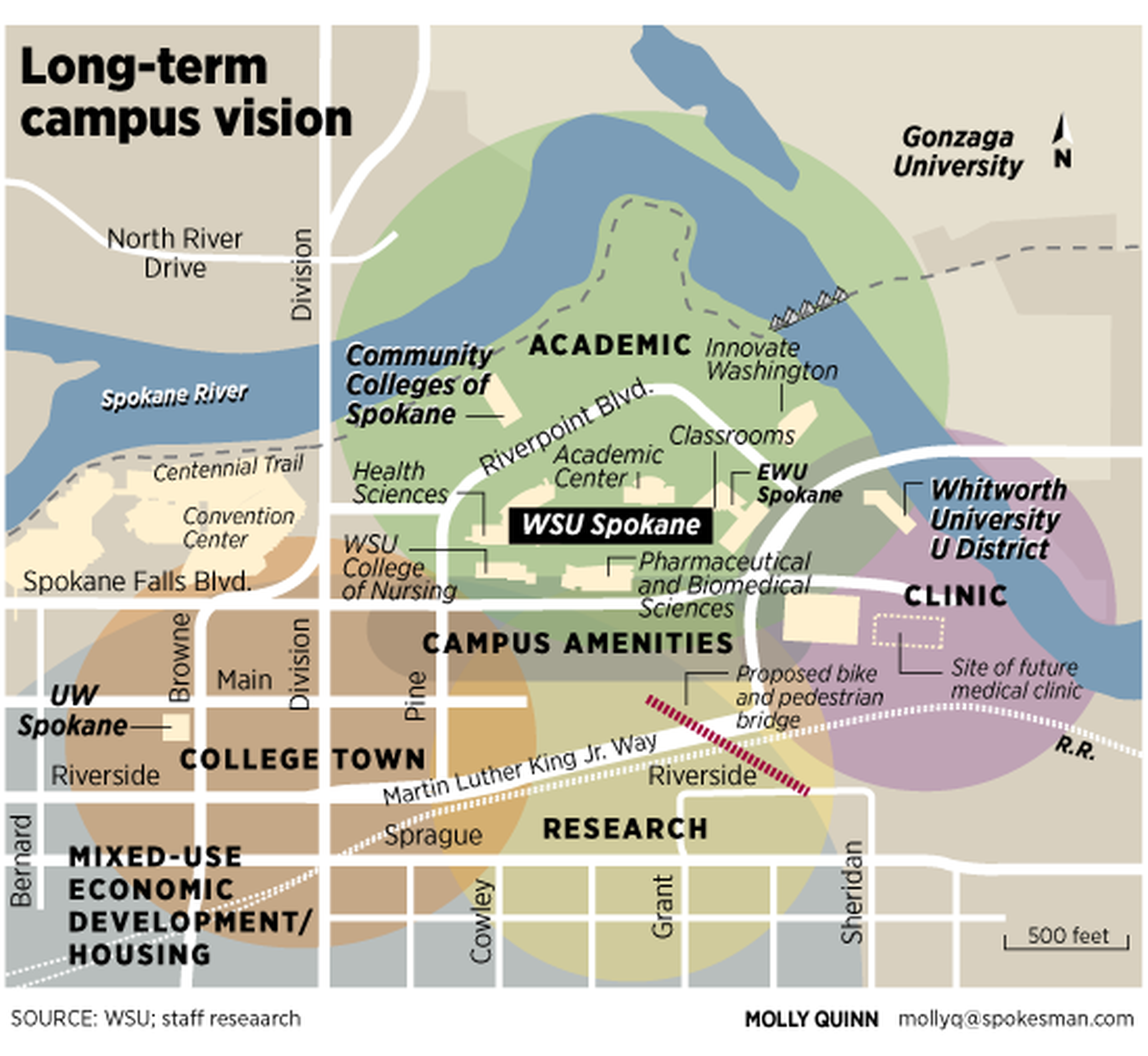 Spokane Falls Community College Map