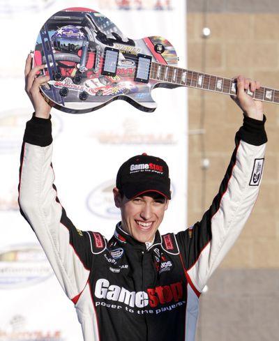 Driver Joey Logano won last weekend's Nationwide Series race at Nashville, Tenn. (Associated Press / The Spokesman-Review)
