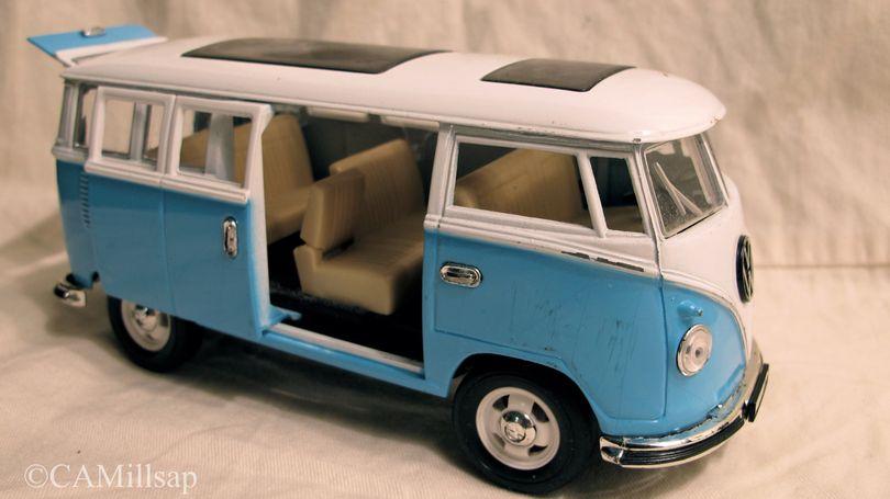 Vintage die-cast VW Microbus (Cheryl-Anne Millsap / photo by Cheryl-Anne Millsap)